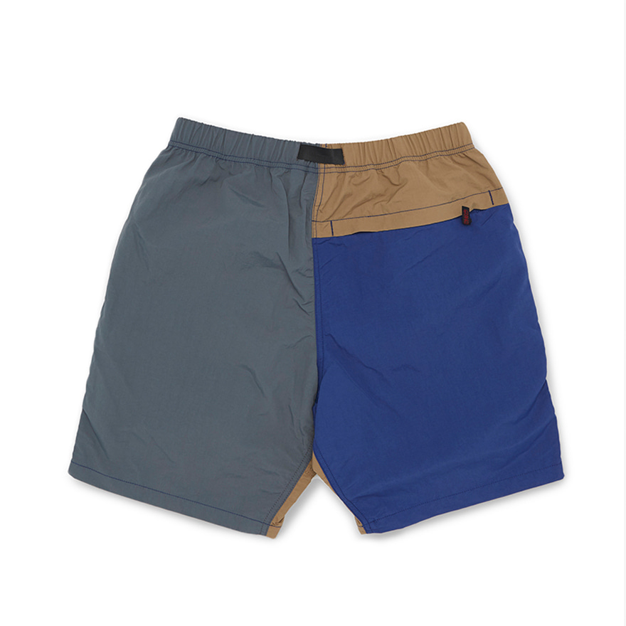 Shell Packable Shorts -  Navy x Charcoal