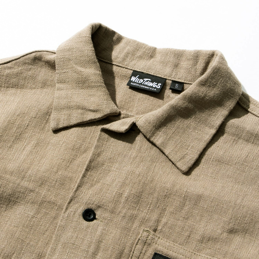 C/L RIVER SHIRT - NAVY